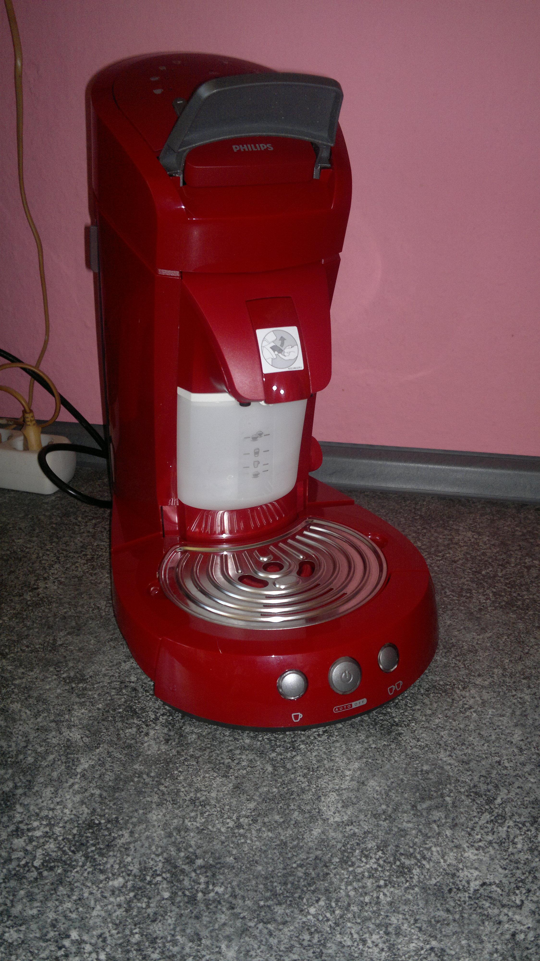 phillips hd 7854 80 senseo latte select rot kaffeemaschine kaffeeautomat goldiedaggi. Black Bedroom Furniture Sets. Home Design Ideas